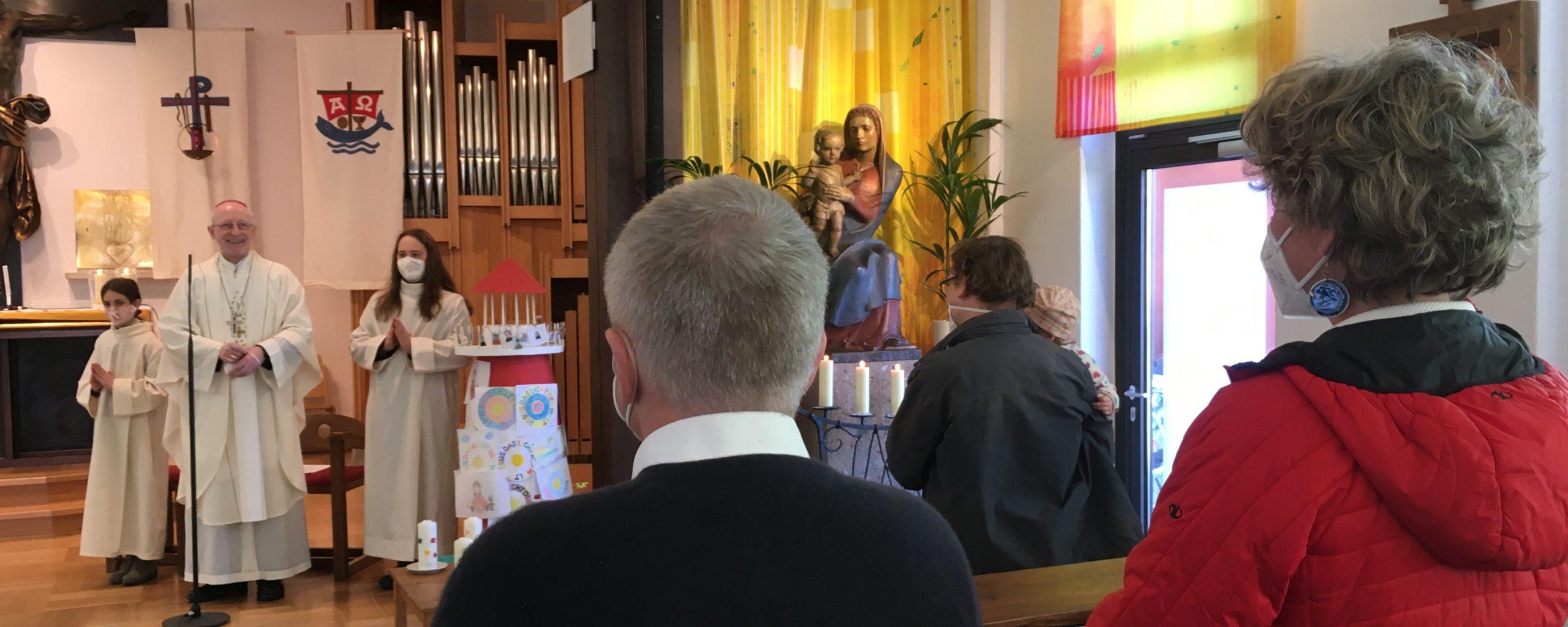 Ostermontag mit Weihbischof Scharl