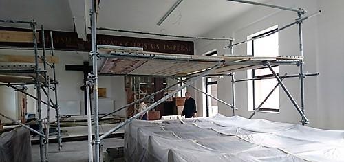Erneuerung des Kirchenraumes